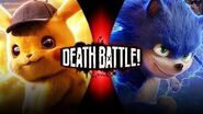 Detective Pikachu vs movie sonic (fan made Death battle trailer S2 e49)-0
