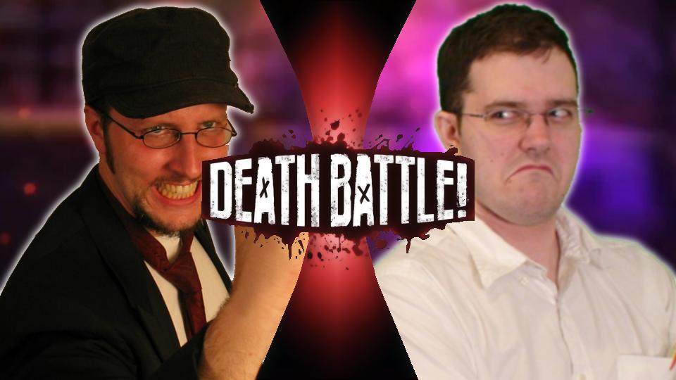 Nostalgia Critic Vs The Angry Video Game Nerd Death Battle Fanon Wiki Fandom