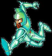 Ghosts 'n Goblins - Sir Arthur wearing Bronze Armor
