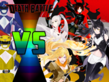 Power Rangers vs Team RWBY