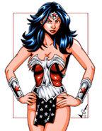Evil Wonder Woman commission by gb2k