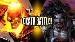 Ghost Rider VS Lobo