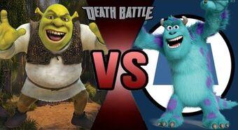 Shrek Vs Sulley Death Battle Fanon Wiki Fandom