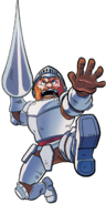 Ghosts 'n Goblins - Sir Arthur as he appears in Archie Comics Worlds Unite
