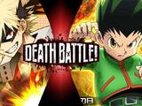 Bakugo vs Gon