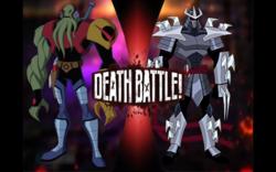 Vilgax VS Shredder
