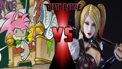 Rosy the Rascal VS Harley Quinn