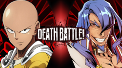 Saitama vs Azrael