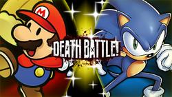 Paper Mario VS Archie Sonic