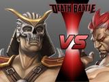 Shao Kahn vs. Akuma