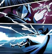 Azula redirects lightning