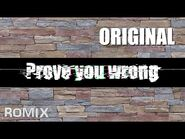 Prove you wrong - ROMIX Original