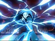 Azula firing lightning