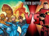 The Fantastic 4 VS The Incredibles