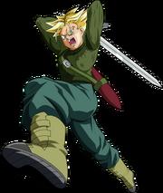 Super saiyan future trunks dragon ball super by mad 54-dahxmdi