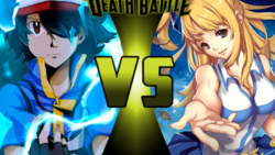 Ash Ketchum vs Lucy Heartfilia
