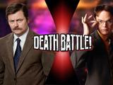 Ron Swanson VS Dwight Schrute
