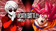 Dave Strider VS Son Goku