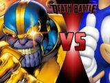 Thanos vs Sonic