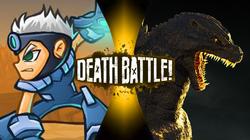 Blast (Epic Boss Fighter) vs Godzilla