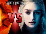 Sauron VS Daenerys Targaryen