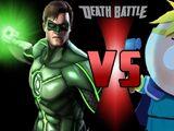 Green Lantern VS Butters