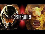 Fan Made Death Battle trailer- Doomguy vs Etrigan the Demon (Doom vs DC)