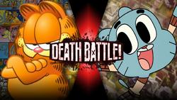 Gumball vs Garfield