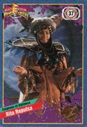 Cardzillion MMPR Rita Repulsa card front