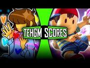 TehGM Scores- Unbound Determination (Ness vs Frisk)