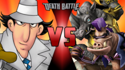 Inspector Gadget VS Bebop and Rocksteady