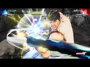 STREET FIGHTER V Ryu Denjin Hadouken