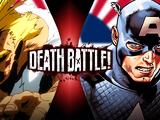 All Might vs Captain America