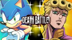 Sonic the Hedgehog vs Giorno Giovanna