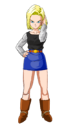 Android 18's new style