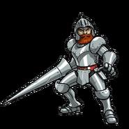 Ghosts 'n Goblins - Sir Arthur as he appears in Otoranger