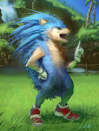 Sonic the realhog by arvalis-d5sr701