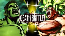 The Hulk vs Broly (DBS)