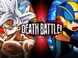 Son Goku VS MegaMan.EXE