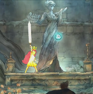 Aurora with the Sword of Light