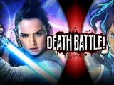 Rey vs Korra