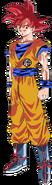 Super Saiyan God Goku