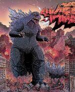Godzilla half centuary war