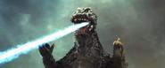 Godzilla's Atomic Breath as seen in the Showa Era