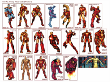 Marvel Comics - Iron Man Armory Visual Guide Volume 2