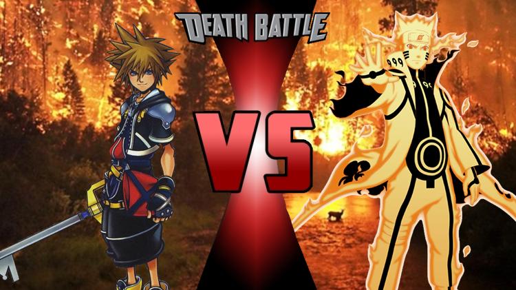 Kingdom Hearts Sora Naruto