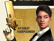 Fourpounder gold