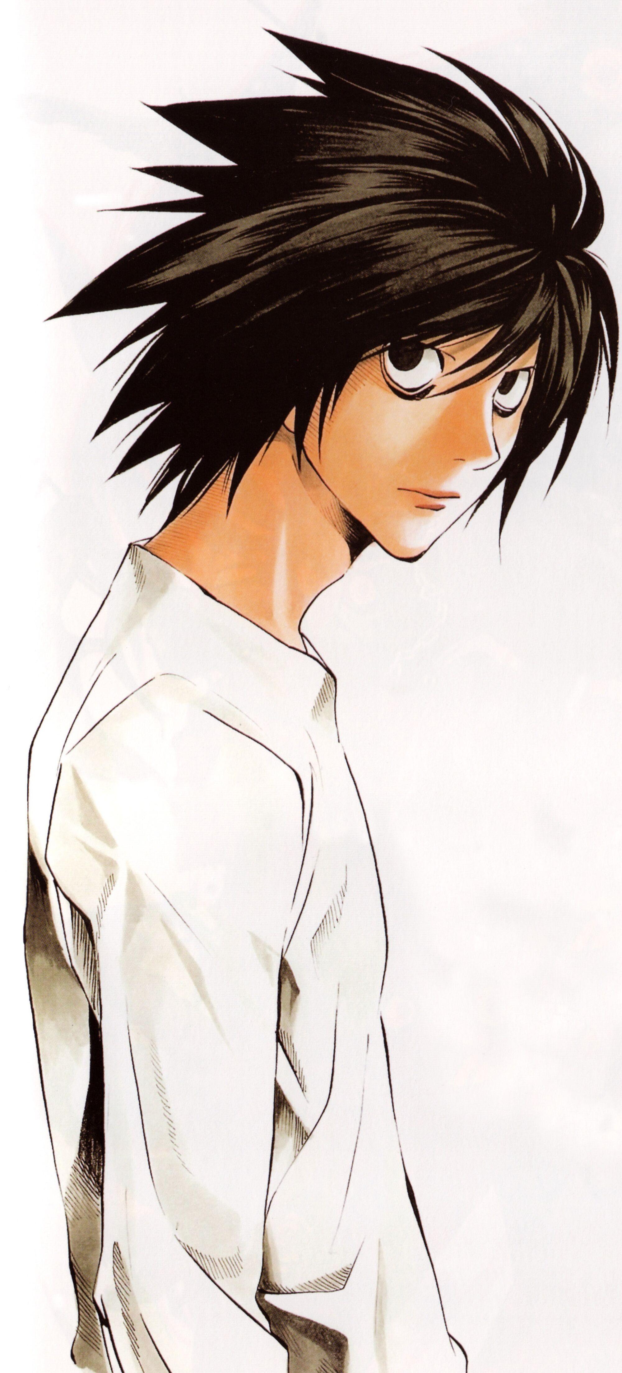 L Character Death Note Wiki Fandom