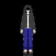 L Korean (Masked & Hooded)