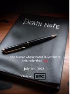 "2023 Season 1 ""Notebook"" Poster"